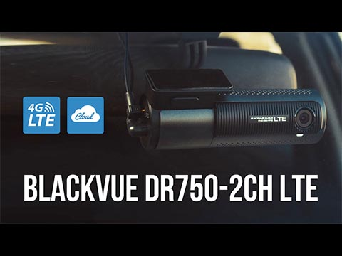 BlackVue DR750-2CH-LTE 4G-LTE Dash Cam Promo Video
