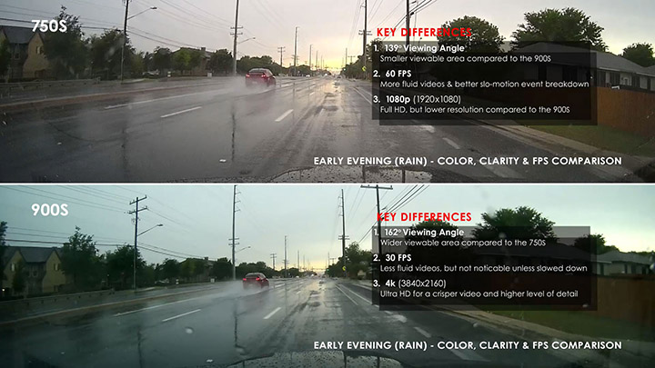 Premium Dashcam Shootout: Feature Side by Side Listings