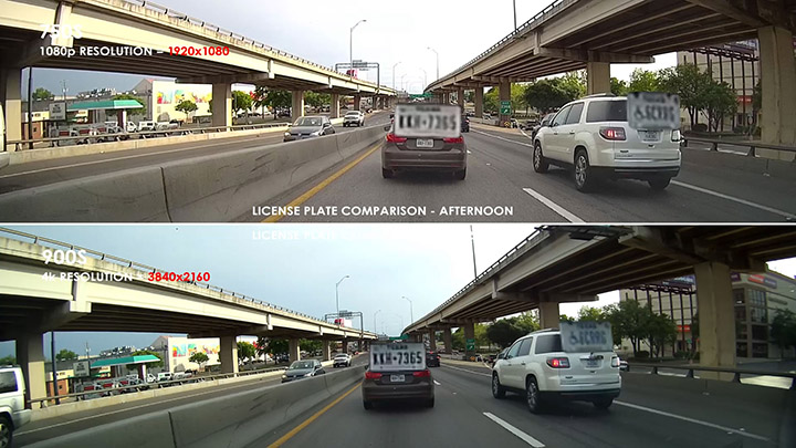 Premium Dashcam Shootout: The license plate test