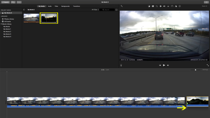 How-to: Edit dashcam footage with a Mac