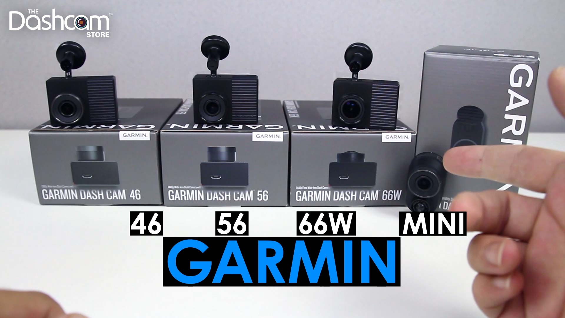 Unboxing the Garmin 46, 56, 66W, & Mini Dash Cams - The