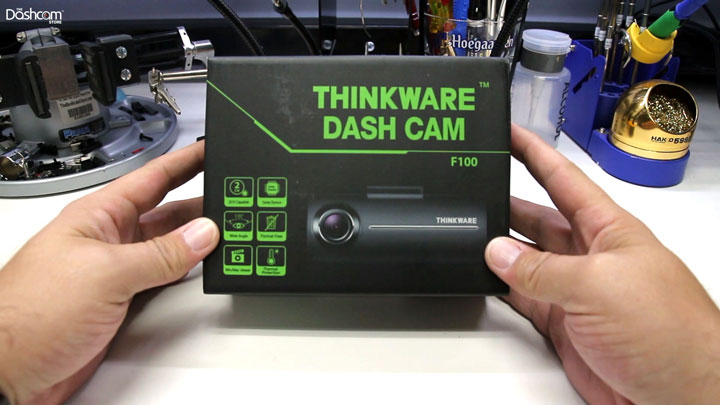 Unboxing the Thinkware F100 Dashcam System