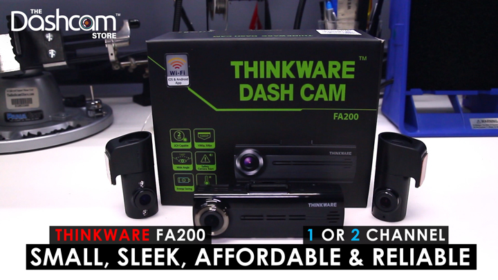 Thinkware FA200 Unboxing Video by The Dashcam Store | Blog Image