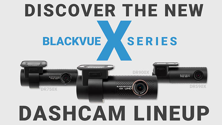BlackVue X-Series Lineup Available for Purchase Now at The Dashcam Store