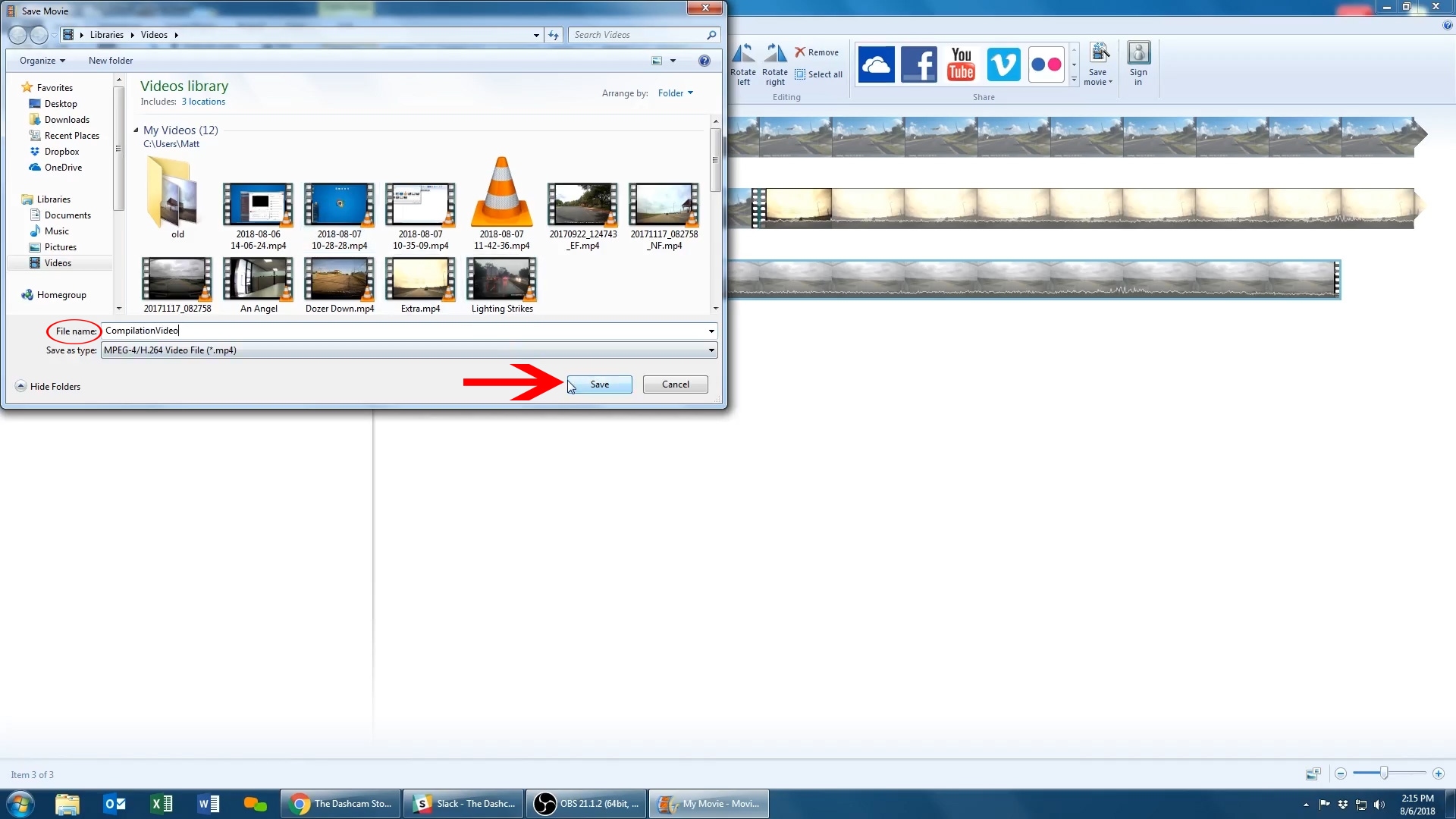 How-to: Edit dashcam footage on Windows 7