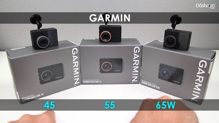Unboxing the Garmin 45/55/65W Dashcams