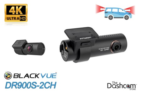 DR900S-2CH BlackVue Dual-Lens Dual 1080p dashcam | Front and Rear Recording