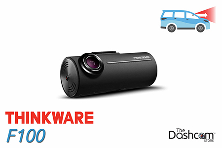 Thinkware F800Pro Dashcam, for forward-facing or front and rear video and audio recording