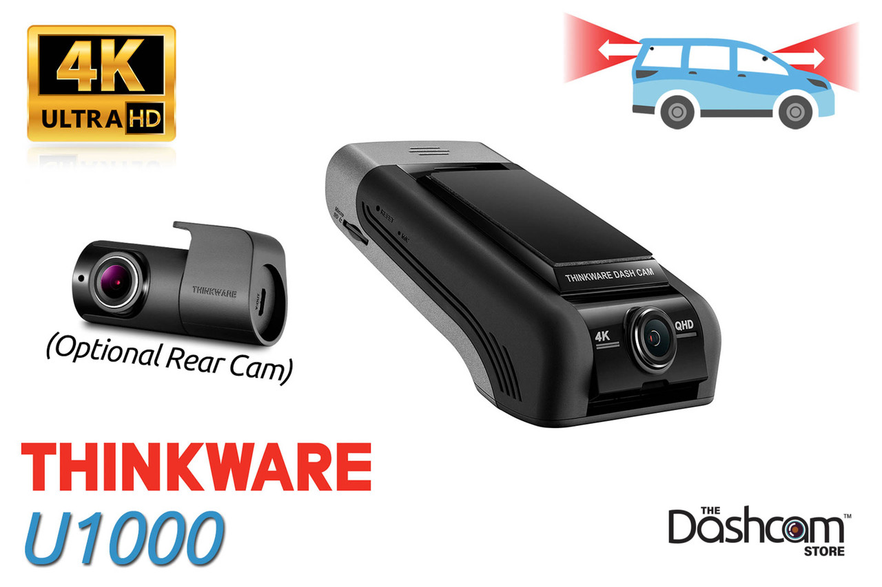 Thinkware U1000 Front + Rear Dash Cam Installed in a VW Golf R | 4K Cloud Connected