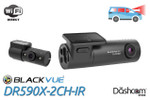 Best Dashcam for Rideshare Drivers | Honorable Mention | BlackVue DR590X-2CH-IR
