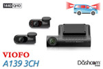 Best Dashcam for Rideshare Drivers Runner Up | VIOFO A139 3 Channel Dash Cam
