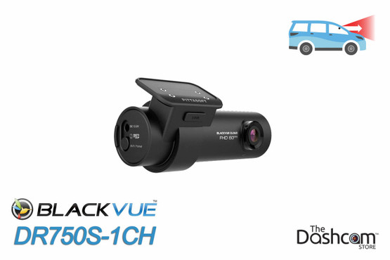 BlackVue DR750S-1CH Dashcam | Featuring  Full HD 1080p 60fps Video, GPS, WiFi & Cloud Functionality
