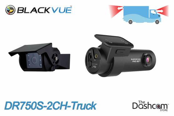 BlackVue DR750S-2CH-Truck 1080p Full HD dual lens dashcam | Alternative Mounting Locations