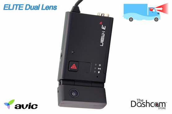 AVIC Elite Dual Lens HD Professional-Grade Tamper-Proof Dual Lens GPS-Enabled Dash Cam | For Sale at The Dashcam Store
