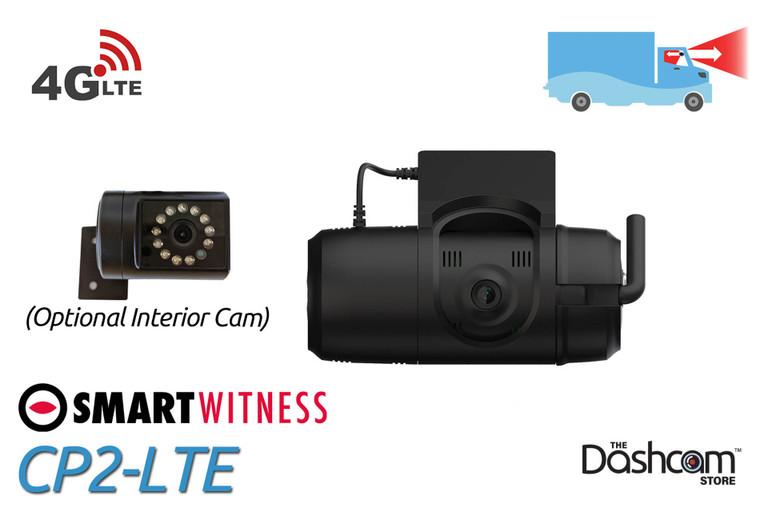 SmartWitness CP2-LTE Front + Cabin Professional Fleet Dash Cam | The Dashcam Store Blog