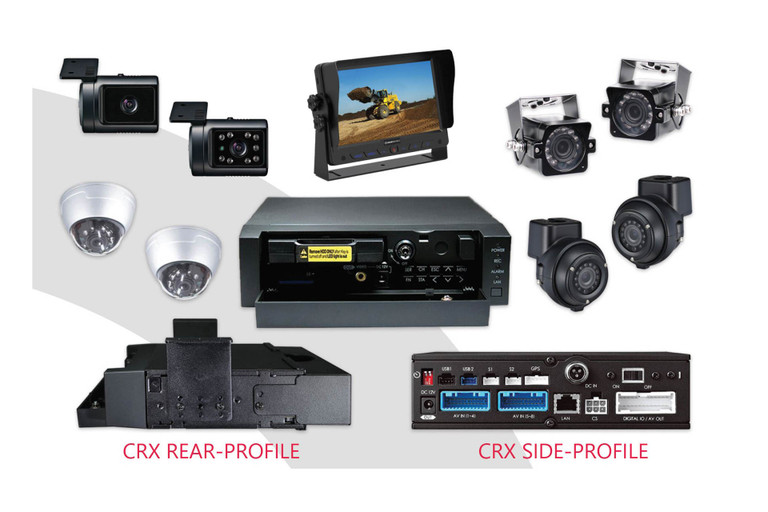SmartWitness CRX 8-Channel Professional Dash Cam Solution & Accessories | The Dashcam Store Blog