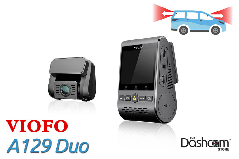 VIOFO A129 Duo IR | Dual Lens Full HD Dashcam w/ Infrared for Front and Interior Recording