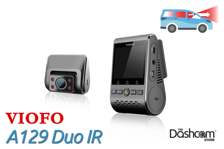VIOFO A129 Duo | Dual Lens Full HD Dashcam for Front and Rear Recording
