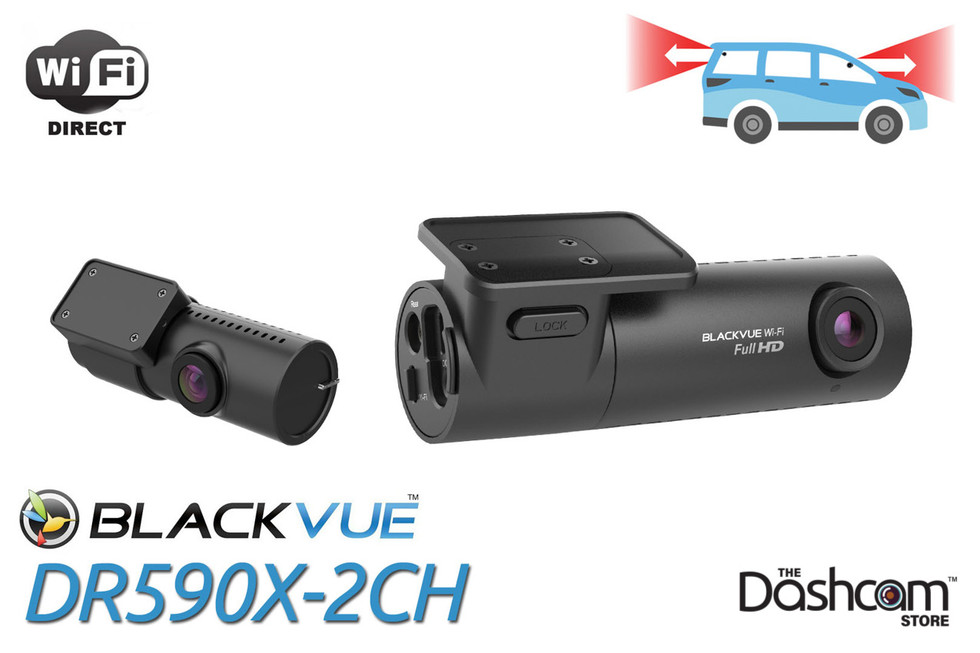 BlackVue DR590X-2CH Dash Cam Header Graphic