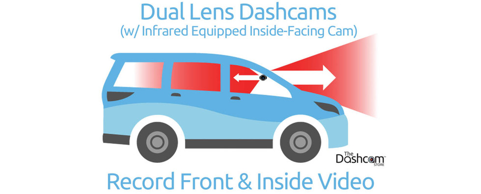 BlackVue DR900X-2CH-IR Dash Cam System | Exclusively For Front & Interior Video Coverage
