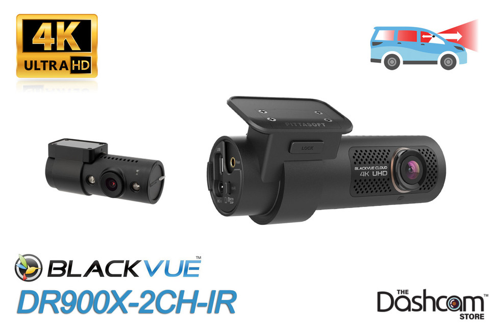 BlackVue DR900X-2CH-IR 4K Dash Cam Header Graphic