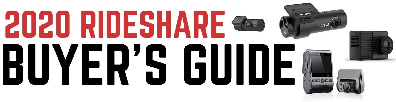 2020 Rideshare Dash Cam Buyers Guide Main Banner | TheDashcamStore.com