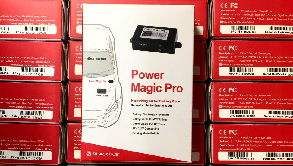 Parking Mode & Power Magic Pro FAQs - The Dashcam Store