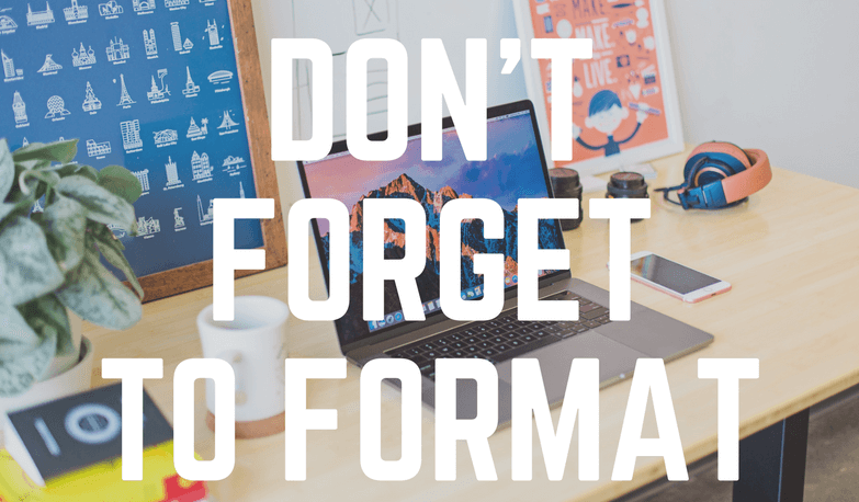 Dashcam Protip: Don't forget to format! - The Dashcam Store