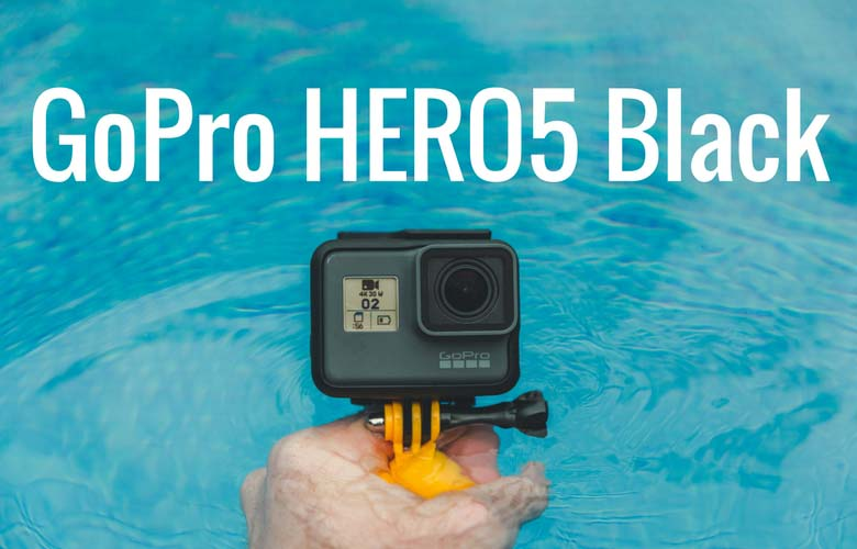 GoPro HERO5 Black in water