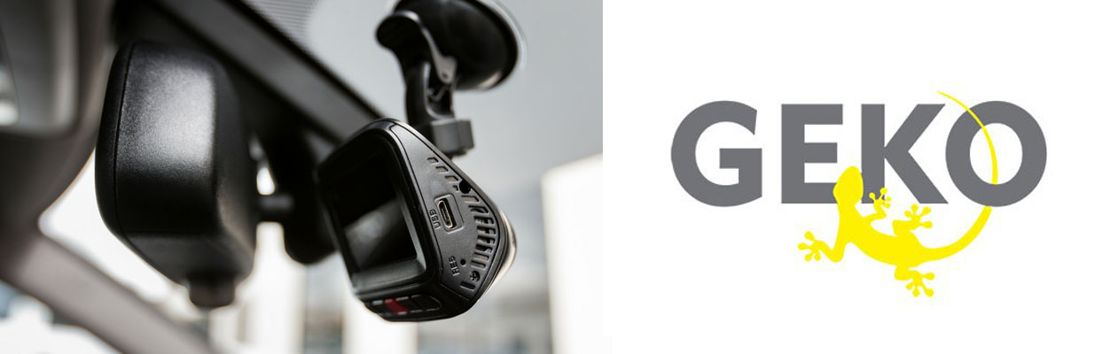 GEKO Professional Dashcams Hero Image