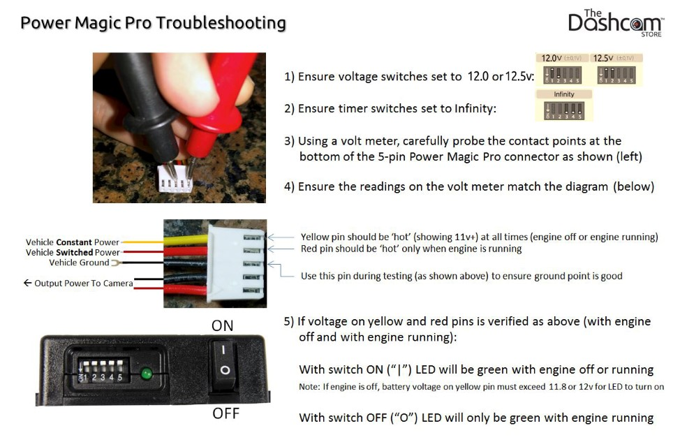 BlackVue Power Magic Pro Parking Mode Troubleshooting Guide | The Dashcam Store Blog