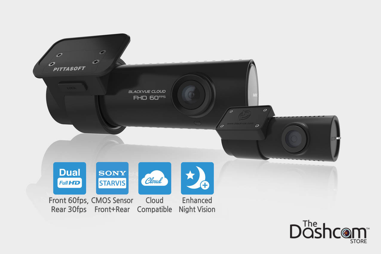 Motoforlyfe's unboxing, review, features, and specs of the new BlackVue DR750S-2CH dashcam | What's Included with the DR750S-2CH | The Dashcam Store Blog