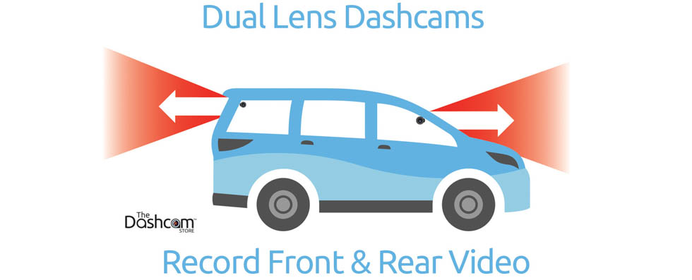 dual lens dashcam front and rear placement example explanation diagram
