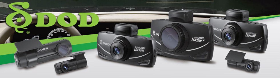 DOD Tech Dash Cameras Brand Image