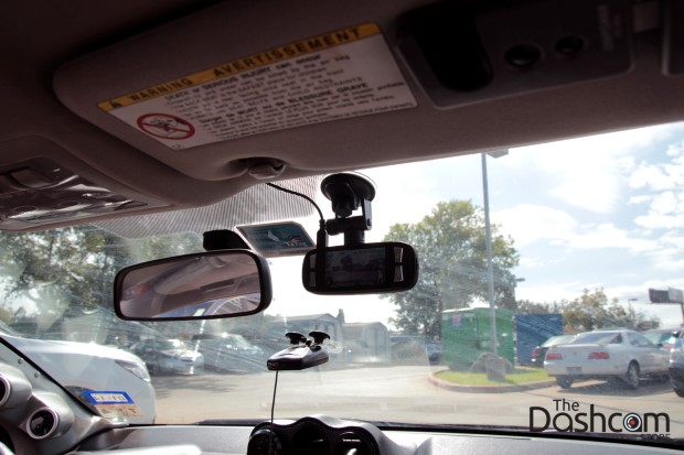 DVR-M880 Dashcam installation 2006 Scion tc