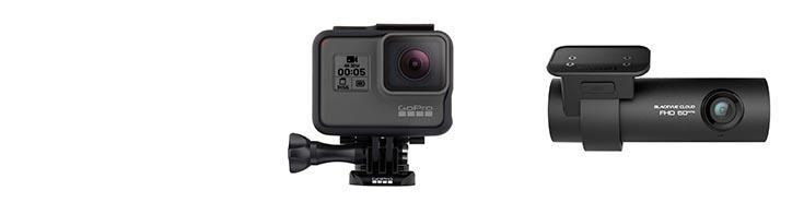 GoPro HERO5 Black vs BlackVue DR750S-1CH Dash Cam