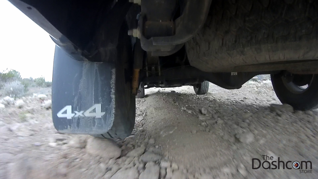 Prime X by Replay XD action cam video stills from Toyota Tacoma 4x4 off road in Big Bend National Park Black Gap Road