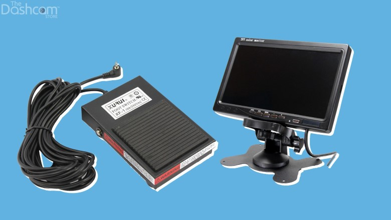 Other VT-300 accessories to optimize your fleet are available as well, such as an emergency foot pedal switch, and a video display monitor. | The Dashcam Store Blog