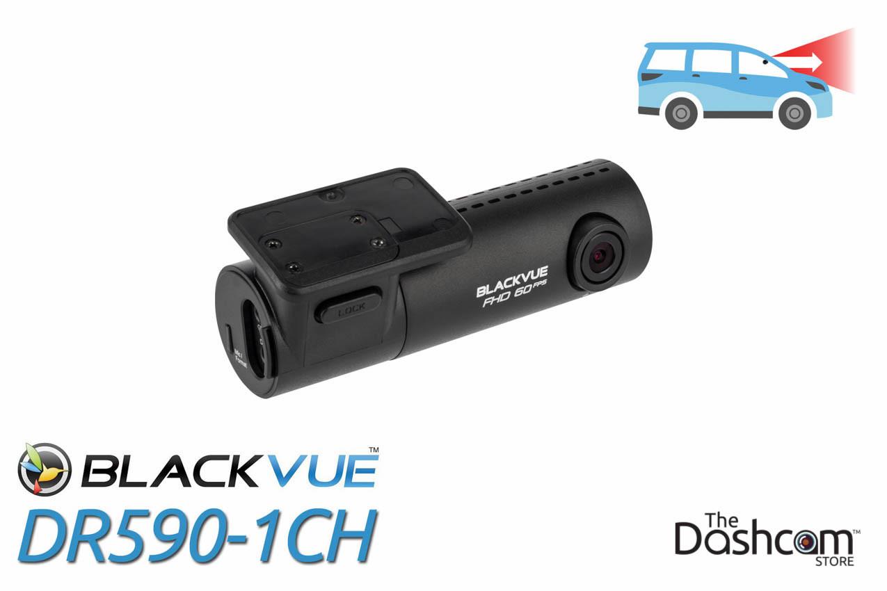 DR590-1CH BlackVue Single-Lens 1080p 60fps Dash cam | Front-facing Camera