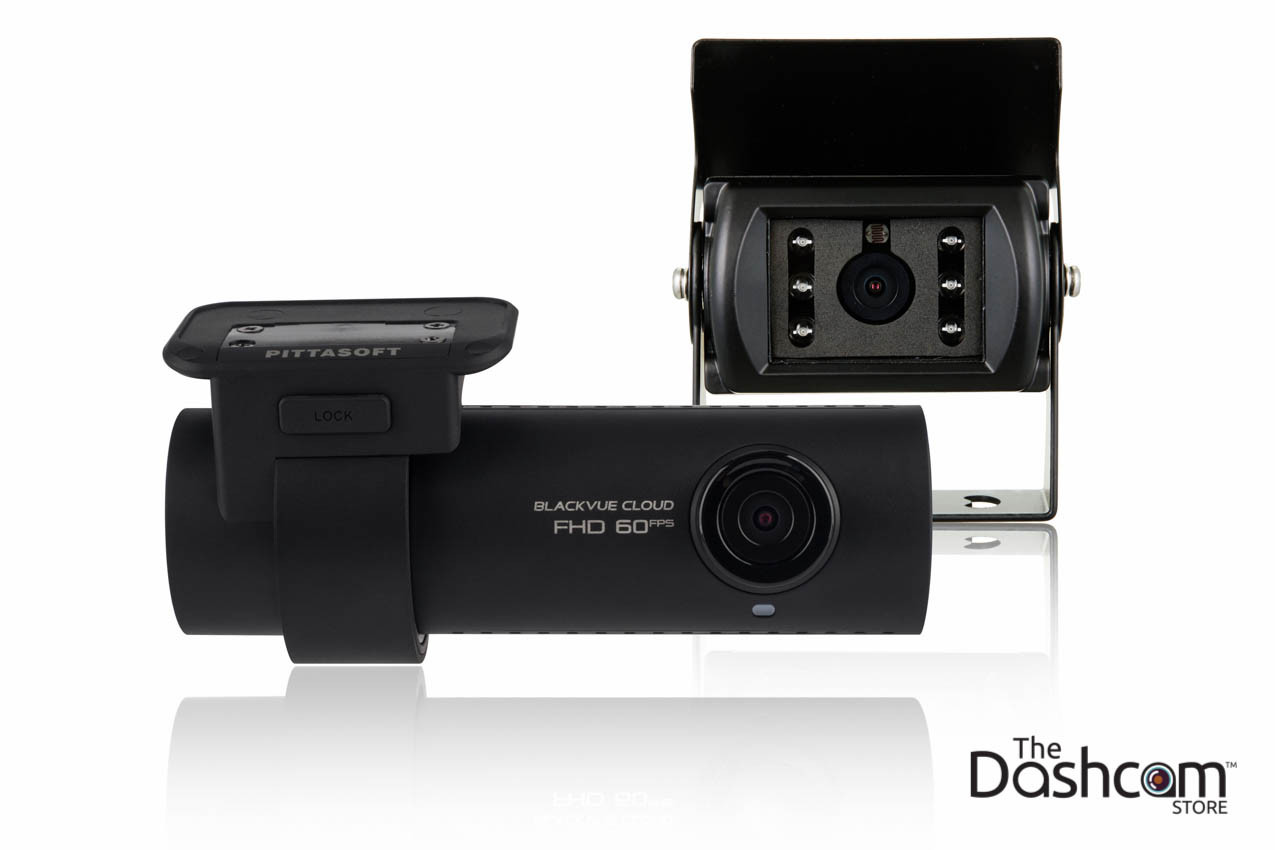 BlackVue DR750S-2CH-Truck 1080p Full HD dual lens dashcam | Alternative Mounting Locations